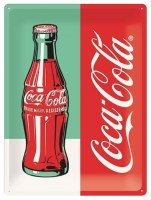 Coca Cola Bottle Limited Edition metalenbord 30x40 cm