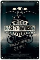 HARLEY DAVIDSON THINGS ARE METALENBORD MEDIUM