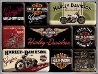MAGNET SET HARLEY BIKE GOED
