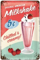 MILKSHAKE METALENBORD MEDIUM