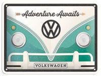 VW Volkswagen Adventure Awaits metalenbord 20x15 cm