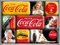 magneet set coca cola yellow