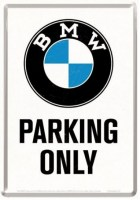postcard bmw parking only