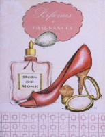 Perfumes and fragnes canvas