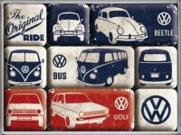 VW Volkswagen Original mageet set