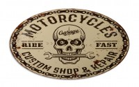 Motorcycles Custom Shop XXL metalenbord