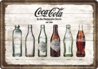 coca cola time line postcard1