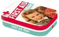 first aid retro mintdoosje